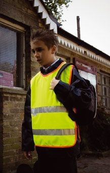Picture of RESULT CHILDRENS SAFEGUARD HIGH VISIBILITY REFLECTIVE TABARD
