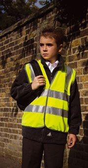 Picture of RESULT CHILDRENS SAFEGUARD HIGH VISIBILITY REFLECTIVE VEST