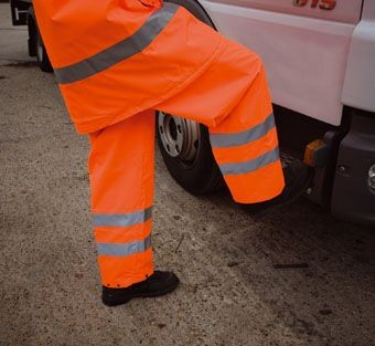 Picture of RESULT HIGH VISIBILITY REFLECTIVE TROUSERS