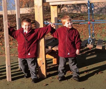 Picture of RESULT CHILDRENS ACTIVE FLEECE JACKET
