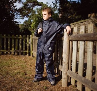 Picture of RESULT WATERPROOF CHILDRENS JACKET & TROUSER SUIT in Carry Bag