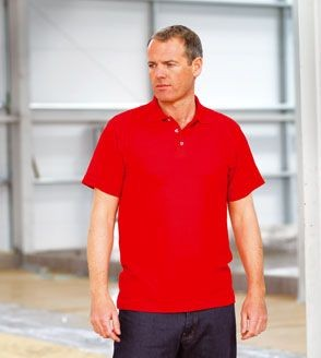 Picture of RTY HEAVYWEIGHT WORKWEAR PIQUE POLO SHIRT