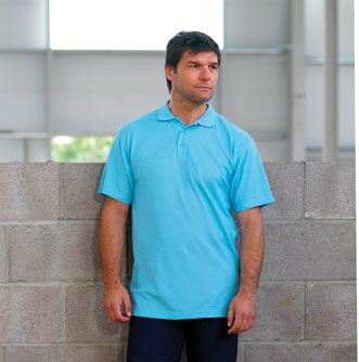 Picture of RTY HEAVYWEIGHT TEFLON COATED PIQUE POLO SHIRT