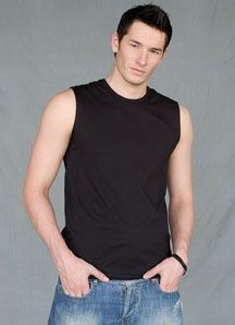 Picture of SKINNI FIT MEN MODERN ESSENTIAL SLEEVELESS TEE SHIRT