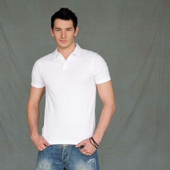 Picture of SKINNI FIT MEN MODERN STRETCH PIQUE POLO SHIRT