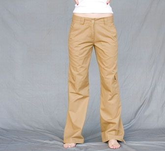 Picture of SKINNI FIT LADIES CARGO TROUSERS