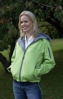 Picture of SLAZENGER LADIES HOODED HOODY SOFT SHELL JACKET
