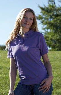 Picture of SLAZENGER LADIES PIQUE POLO SHIRT