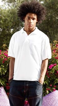 Picture of FRUIT OF THE LOOM POCKET PIQUE POLO SHIRT