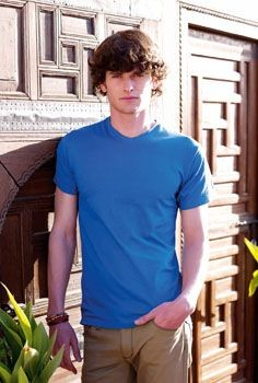 Picture of FRUIT OF THE LOOM V NECK VALUE TEE SHIRT