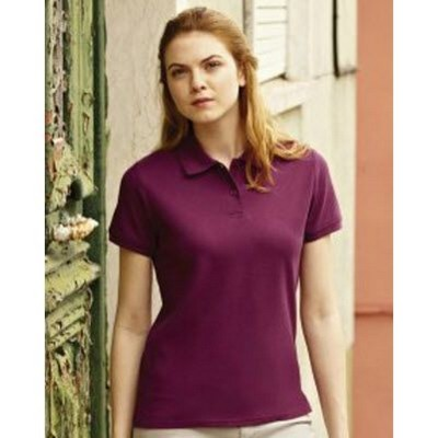 Picture of FRUIT OF THE LOOM LADIES FIT PREMIUM PIQUE POLO SHIRT