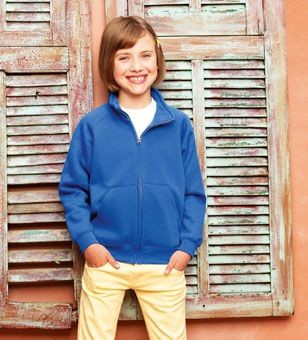 Picture of FRUIT OF THE LOOM CHILDRENS SWEAT JACKET