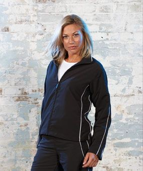 Picture of TOMBO TEAMWEAR LADIES TRACKSUIT TOP