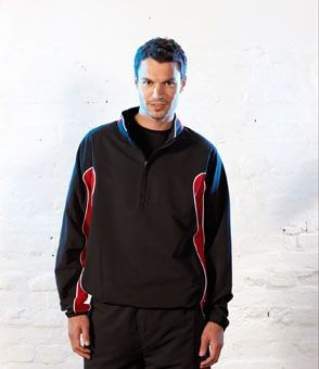 Picture of TOMBO TEAMWEAR ZIP NECK TRAINING TOP