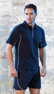 Picture of TOMBO TEAMWEAR PIQUE POLO SHIRT