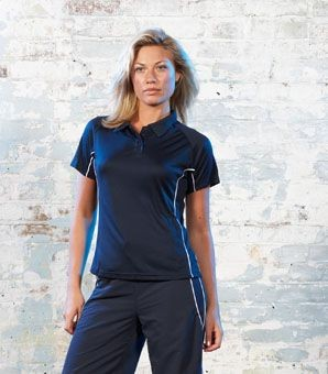 Picture of TOMBO TEAMWEAR LADIES PERFORMANCE POLO SHIRT