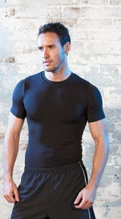 Picture of TOMBO TEAMWEAR SHORT SLEEVE HOT BODY FIT TEE SHIRT