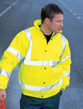 Picture of DICKIES HIGH VISIBILITY BOMBER JACKET