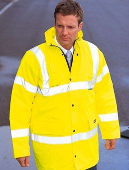 Picture of DICKIES HIGH VISIBILITY MOTORWAY SAFETY JACKET