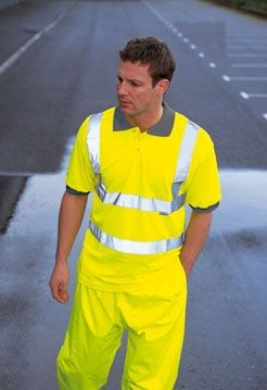 Picture of DICKIES HIGH VISIBILITY POLO SHIRT