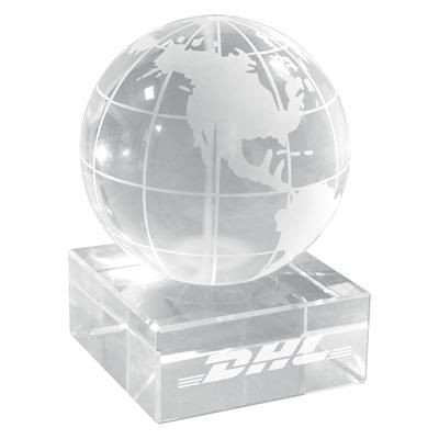 Picture of CRYSTAL GLOBE ON BASE