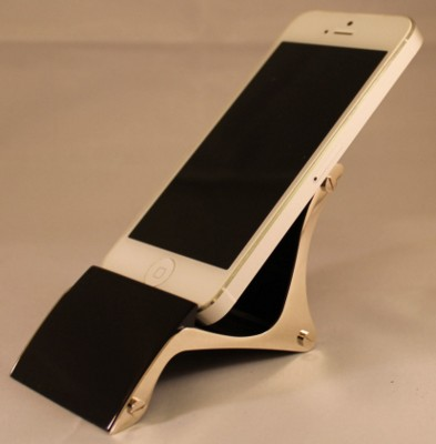 Picture of EBONY MOBILE PHONE HOLDER in Black