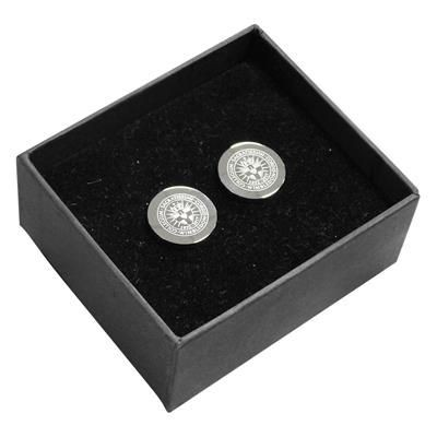 Picture of ORB SILVER METAL CUFF LINKS