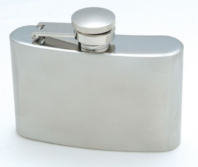 Picture of HIP FLASK in Silver Stainless Steel Metal