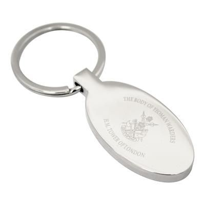 Picture of JUPITER OVAL KEYRING