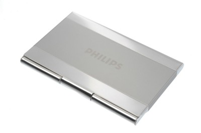 Picture of GARDA BUSINESS CARD POCKET HOLDER in Silver