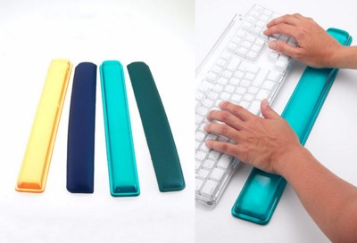 Picture of TRANSLUCENT KEYBOARD GEL FILLED WRIST REST