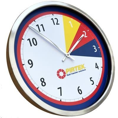 Picture of ROUND METAL WALL CLOCK