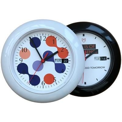 Picture of ROUND PLASTIC WALL CLOCK