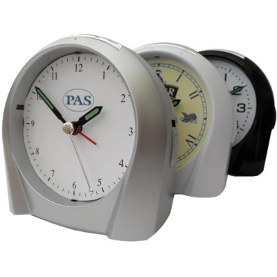 Picture of PLASTIC DESK CLOCK with Alarm & Light