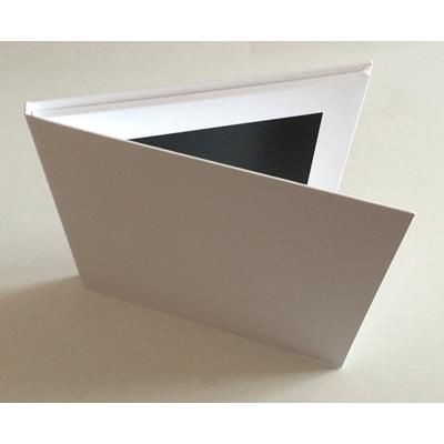 Picture of UPLOAD YOUR OWN 7 INCH SCREEN A5 HARD BACKED VIDEO BROCHURE