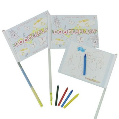 Picture of DOODLE FLAG ACTIVITY TOY