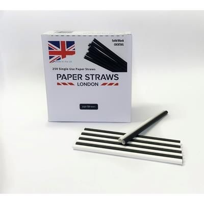 Picture of 6MM X 140MM SINGLE USE PAPER STRAW