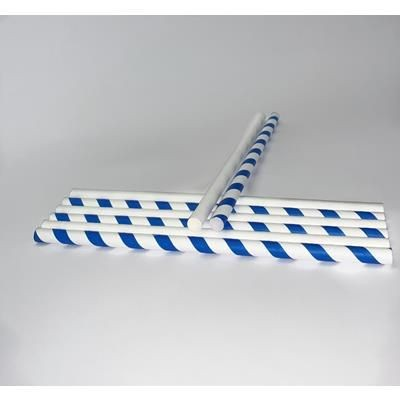 Picture of 8MM X 200MM SINGLE USE SMOOTHIE PAPER STRAW