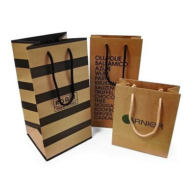 Picture of BROWN KRAFT PAPER BAG