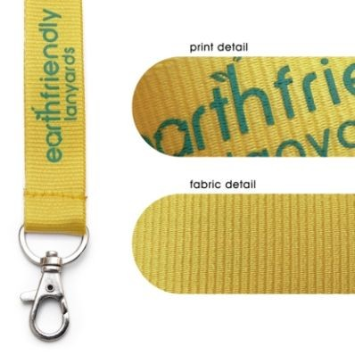 Picture of ECO FRIENDLY PLANT SILK LANYARD