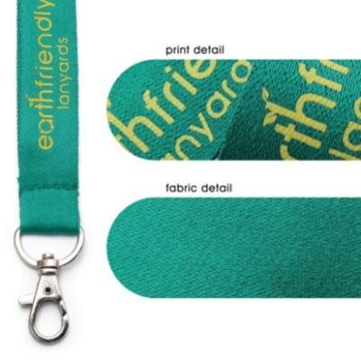 Picture of ECO FRIENDLY PLANT SILK DELUXE LANYARD