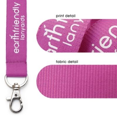 Picture of RECYCLED PET LANYARD