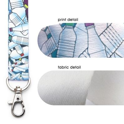 Picture of RECYCLED PET DYE SUBLIMATION LANYARD