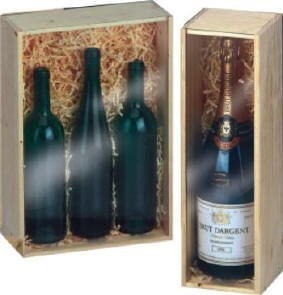 Picture of WINE in WOOD PRESENTATION BOX