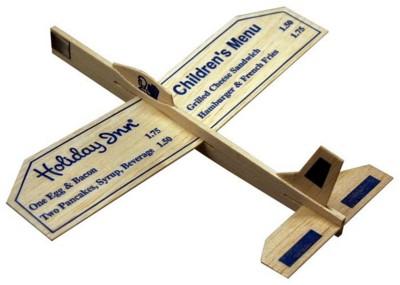 Picture of BALSA WOOD AEROPLANE GLIDER