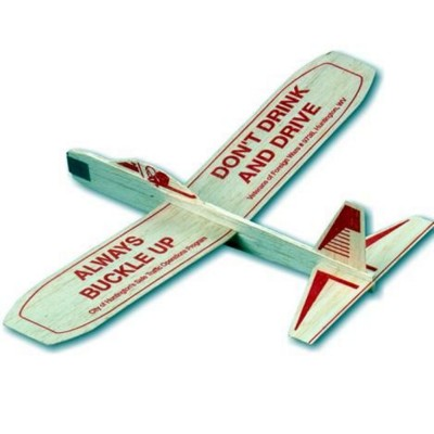 Picture of BALSA WOOD AEROPLANE GLIDER