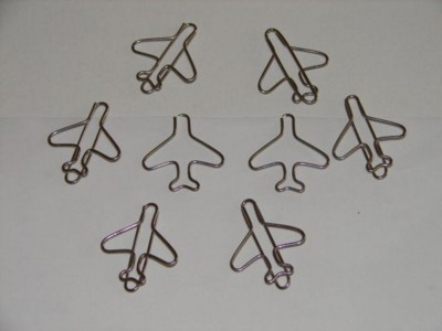 Picture of AEROPLANE WIRE PAPERCLIP