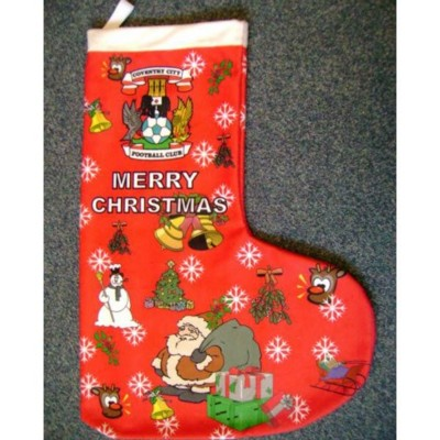 Picture of FLEECE CHRISTMAS STOCKING with Sublimation Digital Print