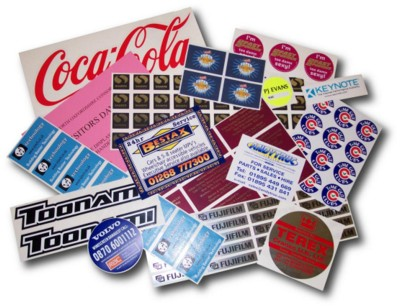 Picture of SELF ADHESIVE LABEL STICKER