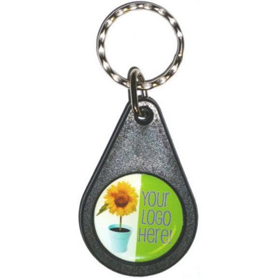 Picture of PLASTIC BACKING KEYRING